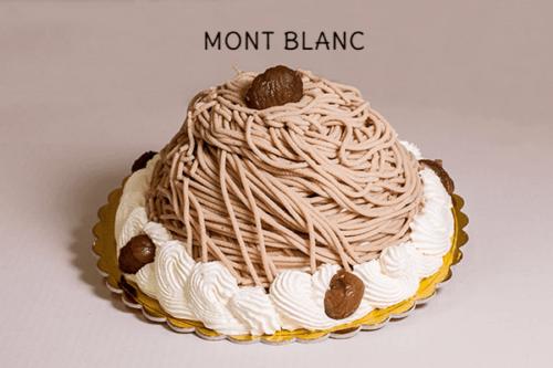 MONT BLANC (no glutine) - Base di meringhe con panna montata e marron glace