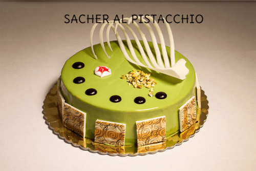 SACHER AL PISTACCHIO