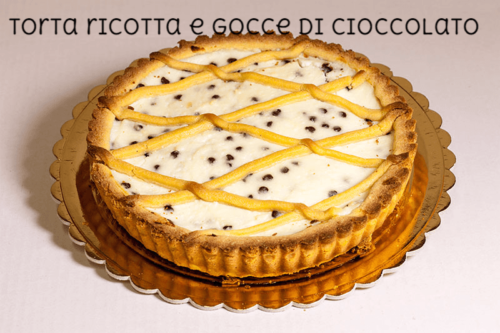 TORTA RICOTTA E GOCCE DI CIOCCOLATO